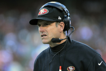 Harbaugh had an excellent first year and has the 49ers looking up.