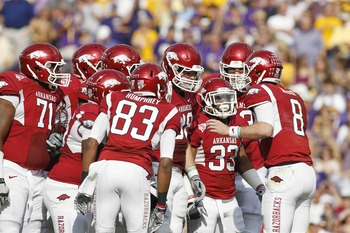 Arkansas looks to get the passing game going again in 2012.