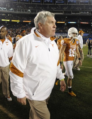 Mack Brown finally chose his starting quarterback...both of them.