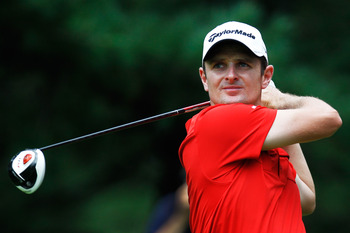 Justin Rose is another player knocking on the door of superstardom