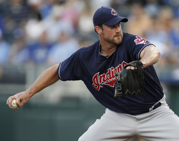 Derek Lowe's Indians career ended in disaster.