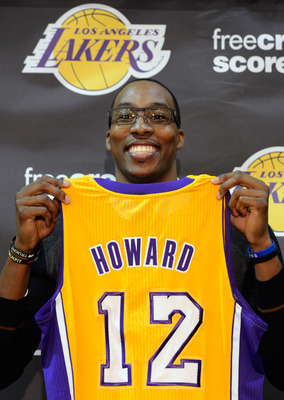 Dwight Howard Lakers Press Conference