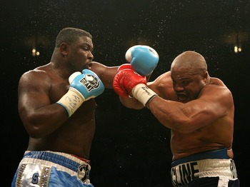 """The Nigerian Nightmare"" is known for his tremendous power and is a former heavyweight champion."