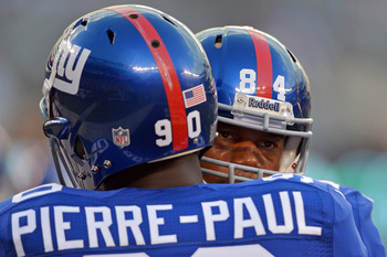 Jason Pierre-Paul will be gunning for Griffin when the two teams meet.