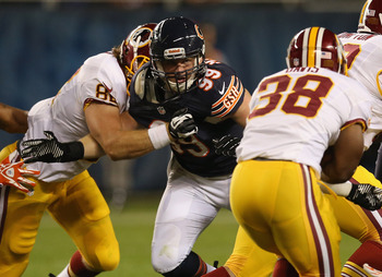 Bears rookie defensive lineman Shea McClellin