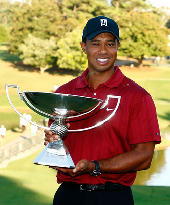 Tiger Woods won his second FedEx Cup in 2009.