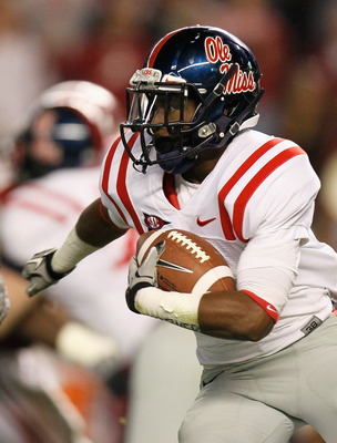 Ole Miss RB Jeff Scott