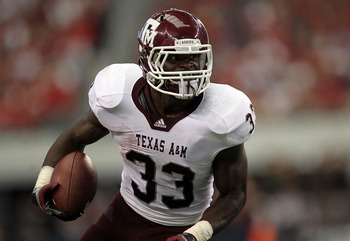 Texas A&M RB Christine Michael