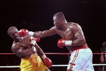 Holmes twenty successful heavyweight title defenses are second only to Joe Louis.