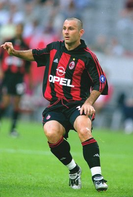 Javi Moreno con el AC Milan