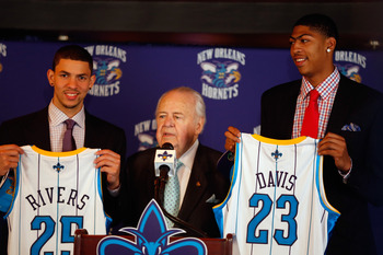Austin Rivers was selected 10th overall to the New Orleans Hornets