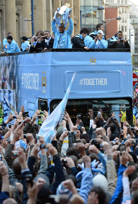 Manchester City, Champions 2011-12