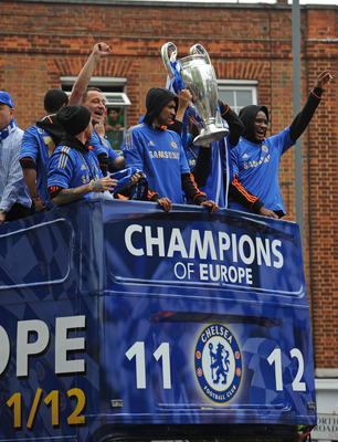 2011-12 Champions League Winners Chelsea