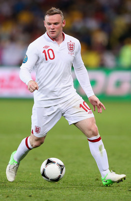 England Star Wayne Rooney