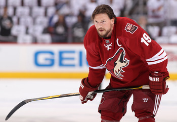 The Sabres are making a strong push for Shane Doan.
