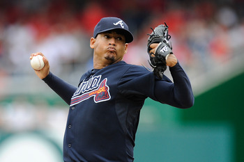 Jair Jurrjens is likely gone at the end of the year.