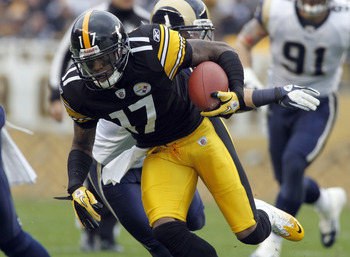 Ben Roethlisberger has found quite the target in Mike Wallace.