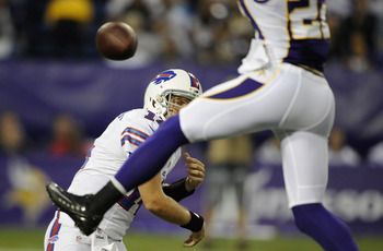After this swat of Ryan Fitzpatrick's pass attempt in Week 2, many Vikings fans are buzzing about Harrison Smith.