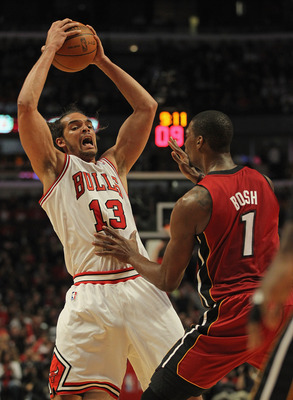 "Noah is the Bulls tallest player at 6'11""."