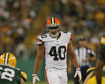 L.J. Fort is one of the undrafted rookies for the Browns making plays