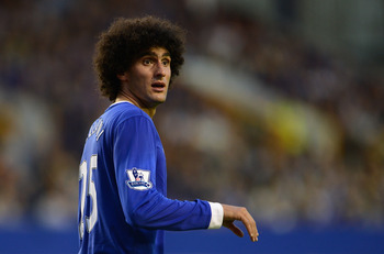 Fellaini: A valued figure at Goodison