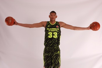 Isaiah Austin of Baylor could use 10 more pounds