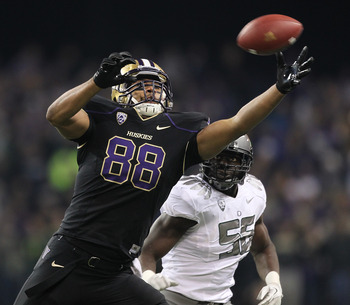 Austin Seferian-Jenkins and Keith Price will become best friends by season's end.