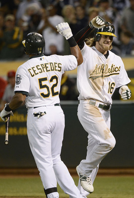 Did Reddick and Cespedes just bash elbows? Cue nostalgia.