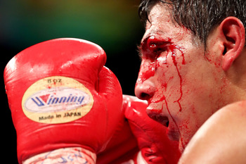 Pablo Cesar Cano during his war with Erik Morales