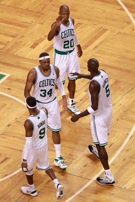 Ray Allen was far from a contributor when the Boston Celtics nearly upset the Miami Heat in 2012.