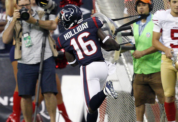 Receiver/Returner Trindon Holliday