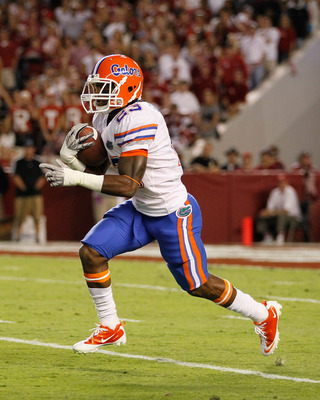 Senior running back Mike Gillislee will provide the run support for the Gators.