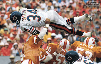 Walter Payton (photo courtesty of Sports Illustrated)