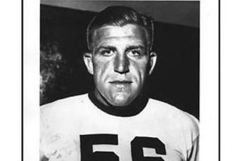 Bill Hewitt (photo courtesy of the Pro Football Hall of Fame)