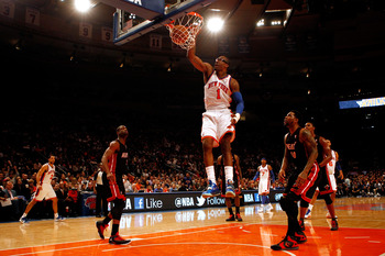 New York Knicks forward Amar'e Stoudemire.