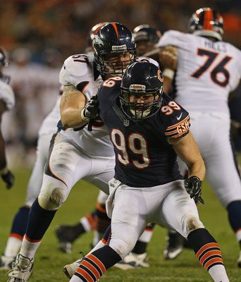 Shea McClellin has displayed a knack for getting into the backfield.