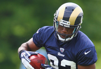 Rams rookie receiver Brian Quick
