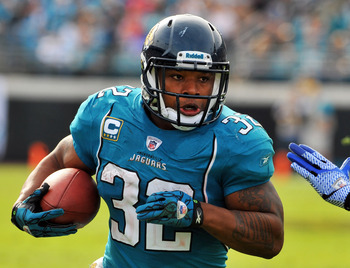 Jags running back Maurice Jones-Drew