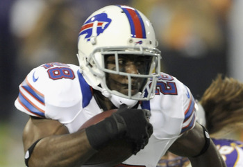 CJ Spiller, running back of the Buffalo Bills