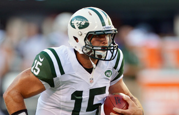 Jets quarterback Tim Tebow