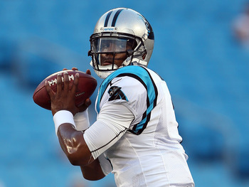 Panthers quarterback Cam Newton
