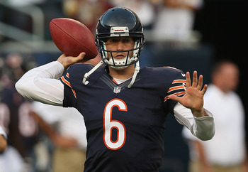 Chicago Bears quarterback Jay Cutler