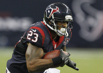 Arian Foster, running back of the Texans