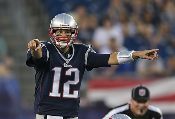 Tom Brady, quarterback of the Patriots