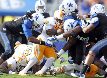 Tennessee at Kentucky, Nov. 2011