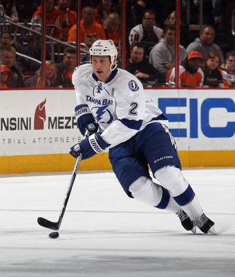 Eric Brewer could be Tampa's highest-scoring defenseman in 2012-13.