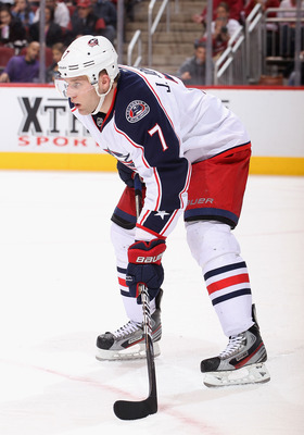 Jack Johnson is the best player on the Columbus blue line.