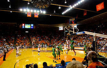 The Don Haskins Center isn't an NBA arena, but El Paso could (and should) consider building one as it is a prime location for an NBA franchise (photo courtesy of UTEP Athletics).