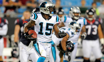 Joe Adams will boost the Panthers' return game right away