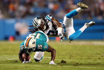 Josh Norman has gone from late-round pick to potential starter since April.